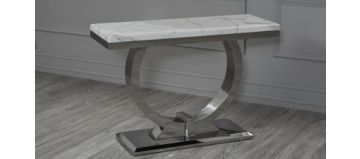 Kingston Console Table White
