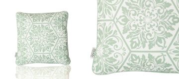 SCATTER CUSHION - PATTERN OLIVE GREEN