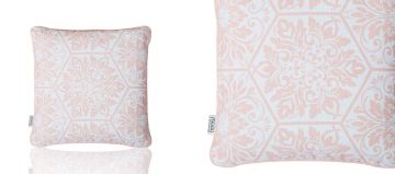 SCATTER CUSHION - PATTERN BLUSH PINK